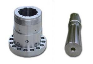 spline shaft and splined hub
