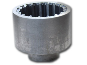 gear coupling inner and outer profile