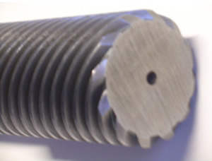 threaded spindle